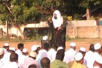 பாலமுனை பொது விளையாட்டு மைதானத்தில், ஹஜ் பெருநாள் தொழுகை
