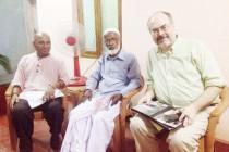 'வார உரைகல்' ஆசிரியர் மற்றும் மனித உரிமைகள் கண்காணிப்புக் குழுவின் பிரதிநிதி சந்திப்பு