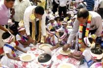 பாலமுனை அல் – ஹிதாயாவில் ஏடு துவக்க விழா