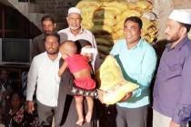 மாகாணசபை உறுப்பினர் சுபைர், உலர் உணவு வழங்கி வைப்பு