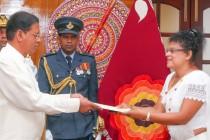 மத்திய மாாகாணத்தின் புதிய ஆளுநராக பெண் ஊடகவியலாளர்