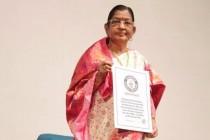 பாடகி சுசீலா உலக சாதனை; இன்னும் பாடுவதற்கு தயாராக இருப்பதாகவும் தெரிவிப்பு