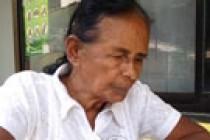73 வயது மூதாட்டி, க.பொ.த. சாதாரண தரப் பரீட்சைக்குத் தோற்றினார்