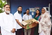 இன வேறுபாடின்றி உதவிகளை வழங்குகின்றோம் : மாகாணசபை உறுப்பினர் ஷிப்லி பாறூக்
