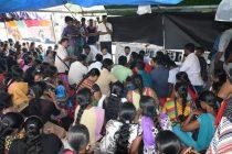 சத்தியாக்கிரகம் செய்துவரும் பட்டதாரிகளை சந்தித்தார் ஹிஸ்புல்லா: ஜனாதிபதியின் கவனத்துக்கு கொண்டுவருவதாகவும் உறுதி