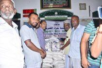 அனர்த்தத்தில் பாதிக்கப்பட்ட மக்களுக்கு, ராஜாங்க அமைச்சர் ஹிஸ்புல்லா நேரில் சென்று நிவாரணம் வழங்கி வைப்பு