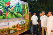 வீதிக் கலைஞர்களுக்கான காட்சிப் பலகைகளை, ஜனாதிபதி கையளித்தார்