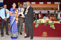 கிழக்கு பல்கலைக்கழகத்தில், 'மெச்சத்தக்க சேவை விருது' வழங்கும் விழா