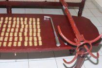 கடலில் கடத்திய 05 கோடி ரூபாய் பெறுமதியான தங்கக் கட்டிகள்; கடற்படையினரிடம் சிக்கின