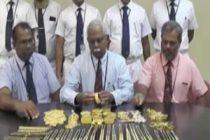 03 கிலோ தங்க நகைகளுடன் மட்டக்களப்பு நபர் சிக்கினார்