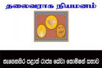 கிழக்கு மாகாண பொதுச்சேவை ஆணைக்குழுவின் தலைவராக, சந்திர ஜயதிலக நியமனம்