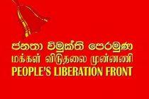 ஜனாதிபதி ஆட்சிமுறையை ஒழிப்பதற்கான, மக்கள் விடுதலை முன்னணியின் பிரேரணை