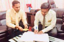 கல்முனை மாநகரசபை ஆணையாளராக, அன்சார் கடமையேற்பு