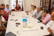 மு.காங்கிரஸ் – தேசிய சூரா கவுன்சில் சந்திப்பு: அரசியல் நிலைவரம் குறித்து பேச்சு