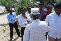 அட்டாளைச்சேனை அபகரிக்கப்பட்ட கடற்கரைப் பகுதிகளுக்கு, பிரதேச செயலாளர் திடீர் விஜயம்