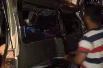 பஸ் – வேன் மோதியதில் 10 பேர் பலி; மஹியங்கனையில் சம்பவம்