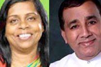 அனோமா, லக்கி: ராஜாங்க அமைச்சர்களாக பதவிப் பிரமாணம்